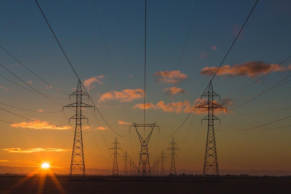 red de transporte energía eléctrica